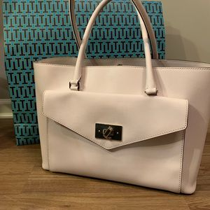 Kate Spade Large Tote Cream Colored